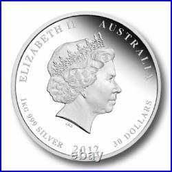 1 KILO kg 2012 Perth Lunar DRAGON Silver Coin