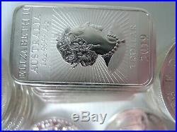 1 Kilo / 32 OUNCES SILVER bullion 2oz unicorn 1oz Britannia & Dragon bars No VAT