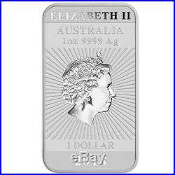 10 x 2018 $1 Dragon 1oz Silver Bullion coin (no capsule)