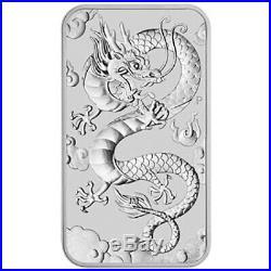 10 x 2019 $1 Dragon 1oz Silver Bullion coin (no capsule)