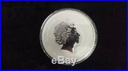 10oz silver bullion lunar ll year of the dragon 2012 silver coin UNC