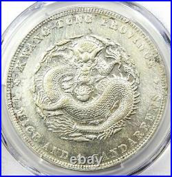 1890-1908 China Kwangtung Dragon Dollar LM-133 $1 Coin. Certified PCGS XF Detail