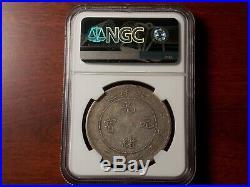 1908 CHINA Dragon Dollar silver coin NGC VF