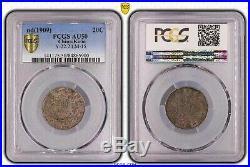 1909 china kirin dragon 20 cents/1 mace 4.4 candereen silver coin PCGS AU50
