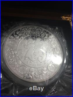 1kg Silver Coin Medal Commemorative Coin Dragon 2012