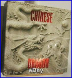 2$ Niue 2018, CHINESE DRAGON, Coral Dragons 2 Oz Silver Coin