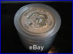 2 oz Silver Dragon Mint Roll Australian Lunar Series I Year 2000