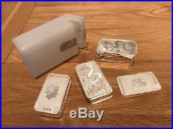 20 x Perth Mint Dragon Silver Bar 2018 1 Oz. 999 Fine silver