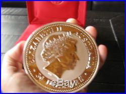 2000 1 KILO 32.15 oz. 999 Silver Dragon Coin Colorized Diamond Eyes Series 1