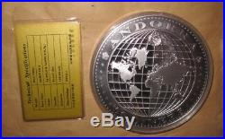 2000 ANDORRA Yr. DRAGON $50 DINERS Proof like Gold & Silver 0.5kg coin with & COA