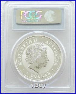 2000 Australia Lunar Year Dragon $1 One Dollar Silver 1oz Coin PCGS MS69