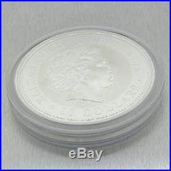 2000 Australia Lunar Year of the Dragon (Series I) BU 10 oz 999 Silver KM#524