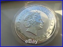 2000 Year of the Dragon Australia Silver Lunar 10 oz Coin Zodiac Ounce