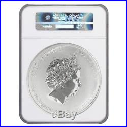 2012 1 Kilo Silver Lunar Year of The Dragon Australian Perth Mint NGC MS 70