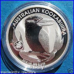 2012 1 oz Australian Kookaburra Dragon Privy Silver coin only 80,000 Minted