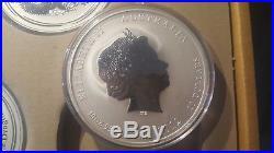 2012 10 Oz Silver Year Of The Dragon Perth Mint Lunar Series II