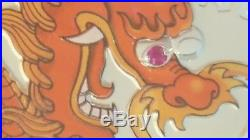 2012 $30 AUSTRALIA LUNAR DRAGON 1 KILO SILVER RUBY GEMSTONE EYE Mintage 5000