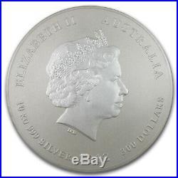 2012 Australia 10 kilo Silver Year of the Dragon BU (321.5 oz) SKU #63850