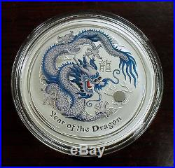 2012 Australia 5 Coin Year of the Dragon Silver Proof Set, Rare Coin Show Issues