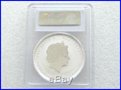 2012 Australia Berlin Lunar Dragon Black $1 One Dollar Silver 1oz Coin PCGS MS70