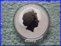 2012 Australia Silver Dragon Lunar Series II BU 1 OZ Colored (Set of 12 Coins)
