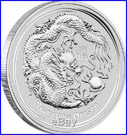 2012 Australian Lunar Dragon 10 oz Silver Coin Series II