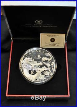 2012 Canada $250 One Kilogram Fine Silver Coin Dragon