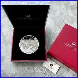 2012 Canada Kilo. 9999 Fine Silver Coin $250 Year of the Dragon