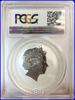 2012-P Australia Lunar Dragon Lion Privy 1oz Silver Coin PCGS MS70