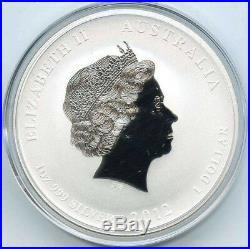2012 Perth Mint Lunar Dragon 10 x 1oz 99.9% pure Silver Bullion Coin Privy mark