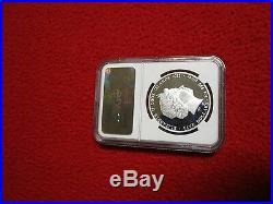 2012 S$5 Cook Islands Dragon Prosperity NGC PF69 1oz. 999 silver coin bullion