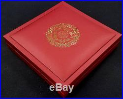 2012 Year of the Dragon 2000 Kip, 2 Oz Proof Silver Coin from Laos! Box & COA