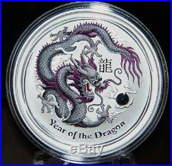 2012 Year of the Dragon Silver Coin Set Features 10 Coins