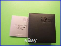 2013 Silver Proof Five Pounds £5 Coin The Royal Birth, St George And Dragon