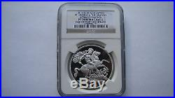 2013 St. George & the Dragon Pistrucci's £5 Crown Silver Proof Coin NGC PF70 UC