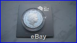 2013 UK Royal Birth £5 St. George & the Dragon Pistruccis Silver Proof coin