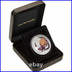 2014 Tuvalu Mythical Creatures DRAGON 1oz Silver Proof Coin Perth Mint