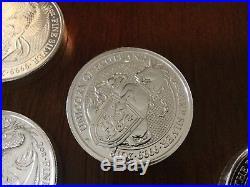 2016 2017 2018 2019 QUEENS BEAST Coin Lion Griffin Dragon Unicorn Bull Falcon