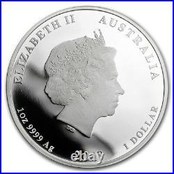 2017 Perth Mint 1oz Silver Dragon & Phoenix High Relief Proof $128.88