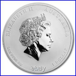 2017 Perth Mint 1oz Silver Dragon & Phoenix Reverse Proof Gem $118.88