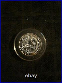 2017 Red Dragon Of Wales Queens Beast Coin 2oz Of Silver
