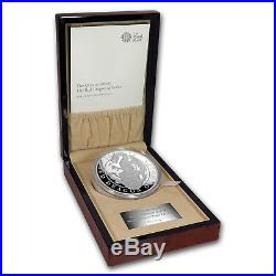 2018 GB Proof 1 kilo Silver Queen's Beast Dragon (withBox & COA) SKU#158893