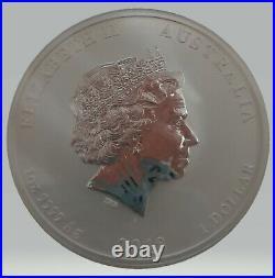 2018 Gilded Silver Dragon and tiger 1 Oz. 999 Collectors Edition coin