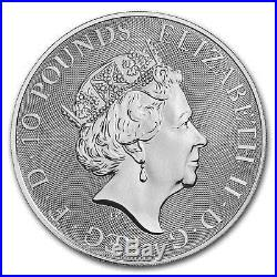 2018 Great Britain 10 oz Silver Queen's Beasts The Dragon SKU#166545