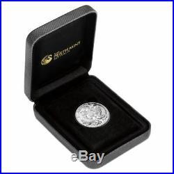 2019 $1 Dragon & Tiger 1oz Silver Proof Coin