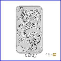 2019 Australian Dragon Rectangular Silver Bullion Coin 1oz