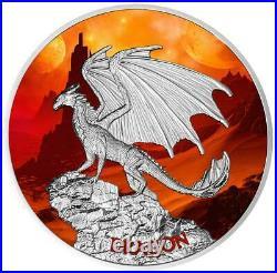 2020 Dragon 1.05oz Pure Silver Proof Coin Niue