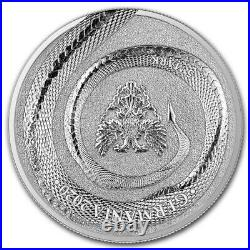 2020 Germany's Germania Beast Fafnir Dragon 1 Ounce Pure Silver Colorized Coin