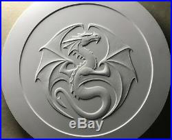 5 Oz Silver Coin Anne Stokes Dragons Series Kindred Spirits 2nd In Series # Coa