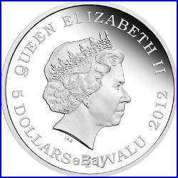 5 Oz/Unzen Silber DRAGONS OF LEGEND SPECIAL EDITION Tuvalu 2012